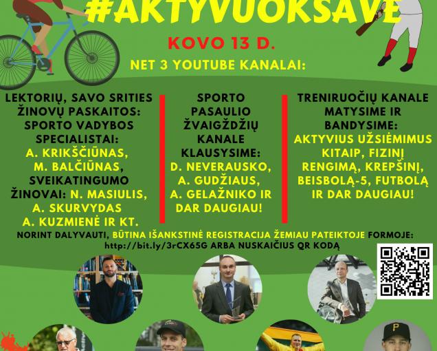 #AktyvuokSave!